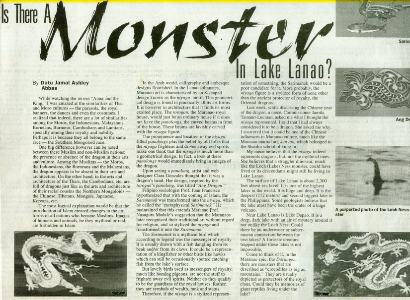 dragon in lanao 2