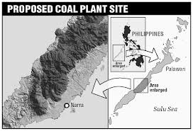 "Proposed Coal Plant in Palawan, an island together with its surrounding isles declared by UNESCO as a ""Biological Reserve"""