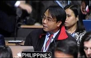 Yeb Sano of the Philippine National Climate Change Commission