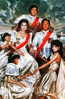 The Ruling Family during Martial Law - the Conjugal Dictatorship
