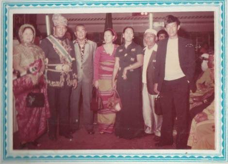 Cong. Rashid Lucman was proclaimed Paramount Sultan of Mindanao and Sulu. As such, he